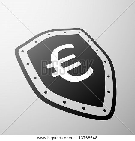 Euro Currency. Stock Illustration.