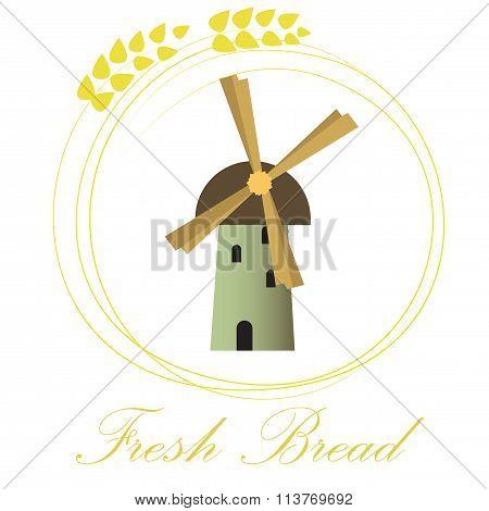 Fresh bread logo