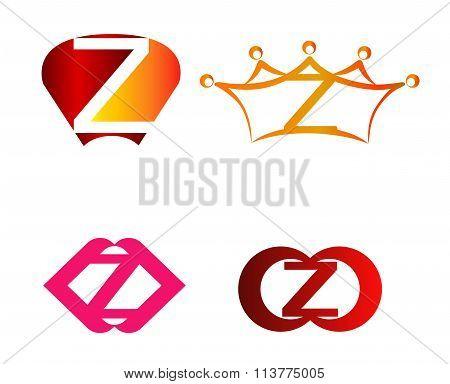 Z logo set