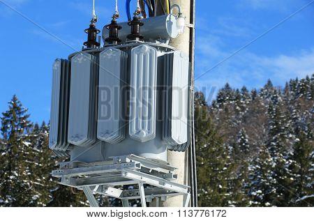 Transformer electric station