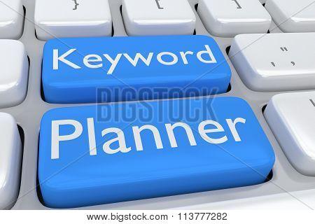 Keyword Planner Concept