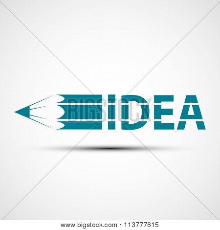 Logo Design. Stock Illustration.