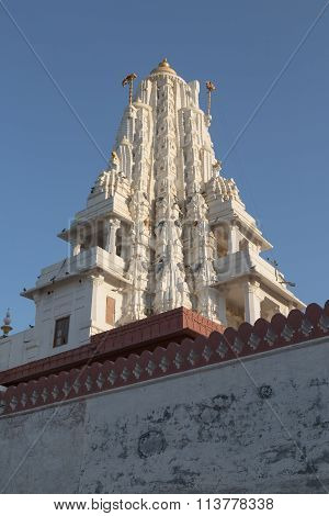 Bhandasar Jain Temple In Bikaner, India