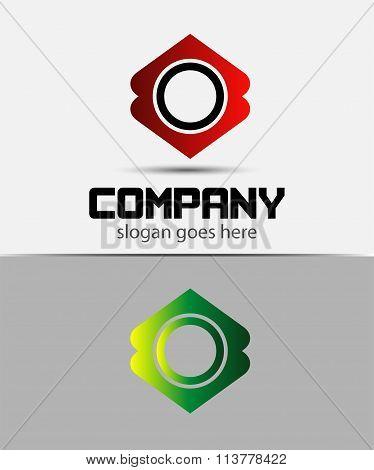 Letter O Logo Design.Creative Symbol of letter O