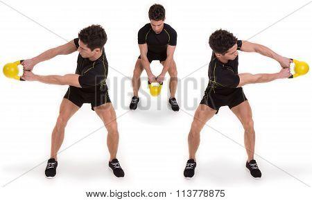 Kettlebell, Sidewinder, Exercise