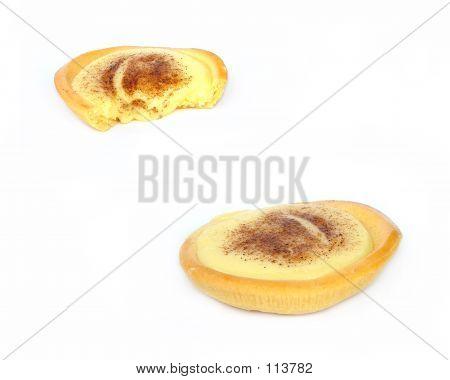 2 Custard Tarts