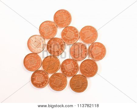 One Penny Coins Vintage