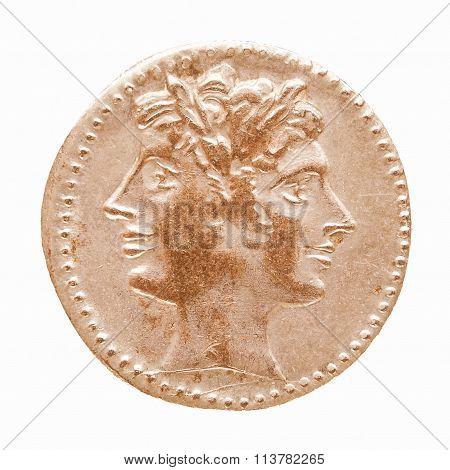 Roman Coin Vintage