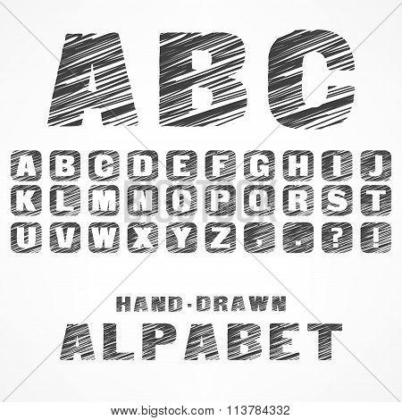 A B C Caps Alphabet