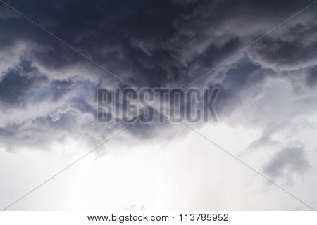 Dark Cloud From Storm