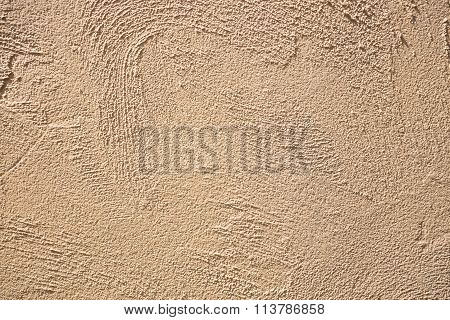 Old Yellow Cement Texture Background