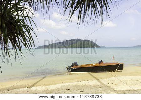 Wooden Speedboat