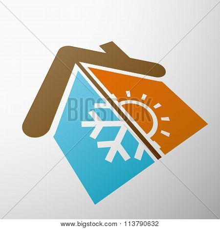 Climate Control. Stock Illustration.