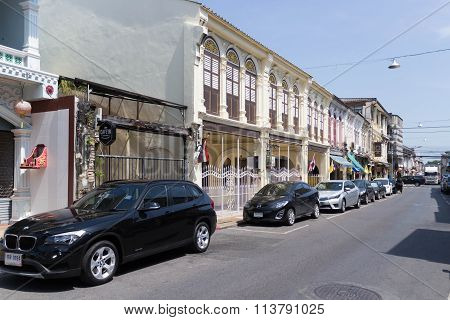 Shophouses In Thalang Road, Phuket