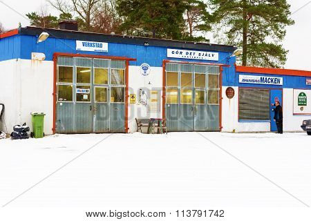 Johannishus Garage