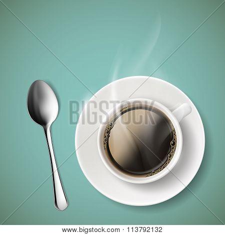 Coffee. Stock Illustration.