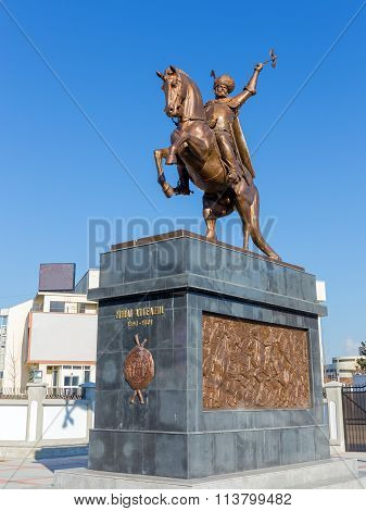 Michael the Brave statue, Bucharest, Romania