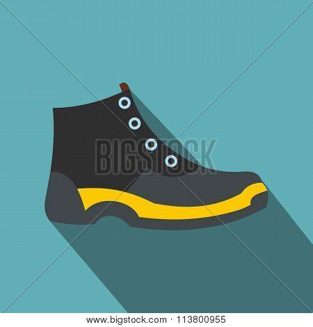 Tourist shoes flat icon