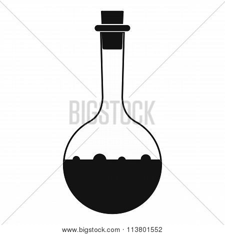 Small bottles with potion