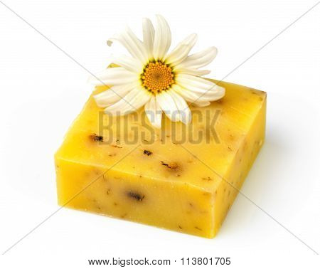Soap With Flower Chamomile