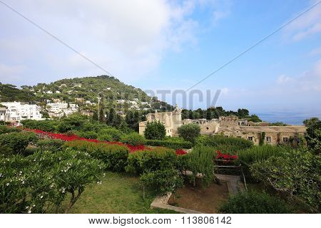 City Of Capri, Capri Island,  Italy