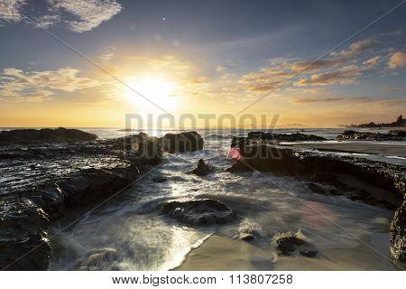 Currumbin Rock sunrise