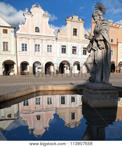 Telc Or Teltsch Town Square