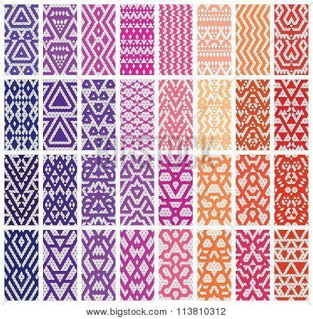 Set of 24 patterns.
