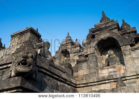 Ornamentation Of Borobudur Temple