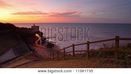 Jacob's Ladder at sunset