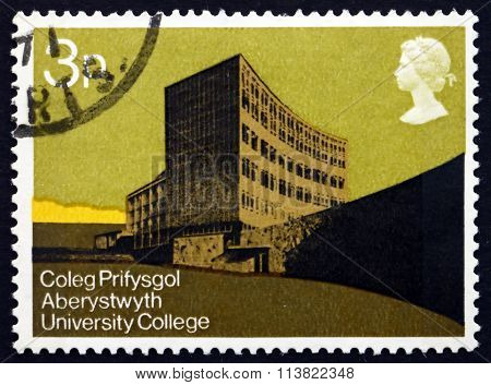 Postage Stamp Gb 1971 University College Of Wales
