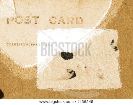 Grunge hintergrund Postkarte