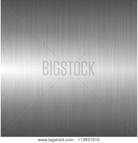 Metallic polished background.