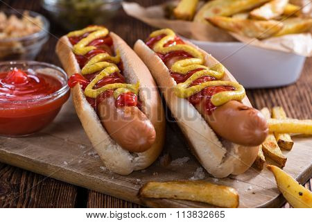 Homemade Hot Dog
