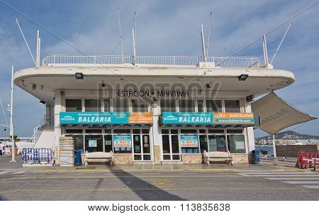 Ibiza Port Building