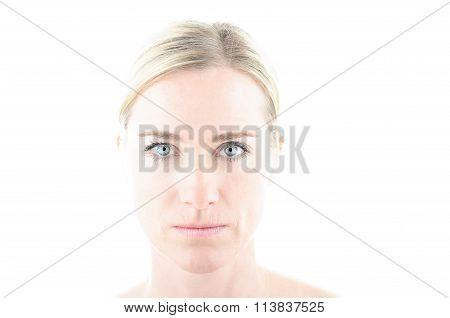 Portrait Of A Blond Woman