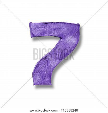 Number 7 seven.