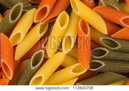 Three Color Penne Pasta