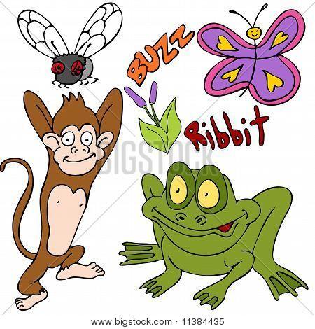Bugs Animals Plants