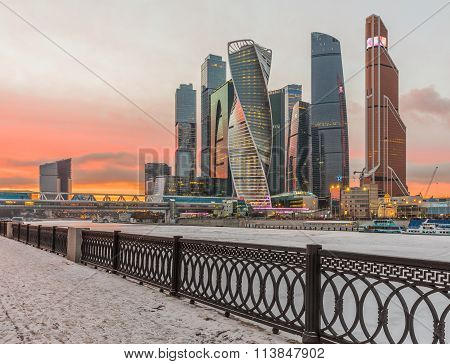 Business Center Moscow City.