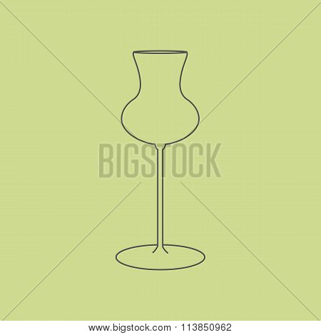 Cognac Glass Icon