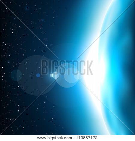 blue planet shine