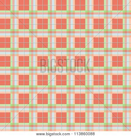 Summer Plaid Pattern