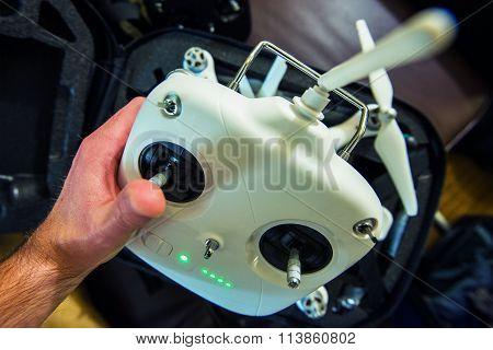 Drone Remote Preparation