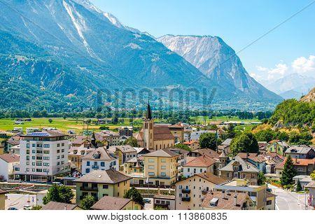 Gampel-bratsch Switzerland