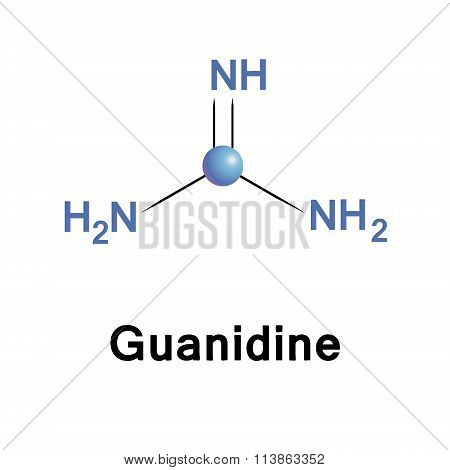 Guanidine biochemical compound