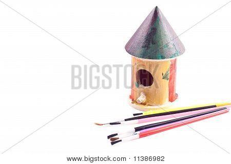 Kids Bird House Project