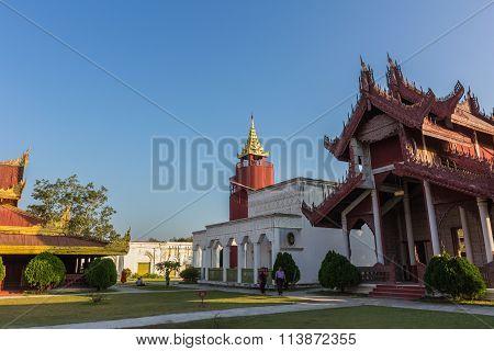 The Royal Palace In Mandalay, Myanmar