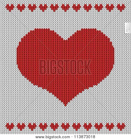 Valentines Day Knitted Pattern