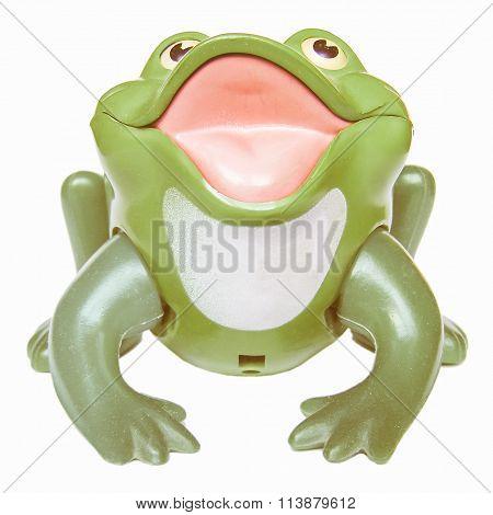 Toy Frog Vintage